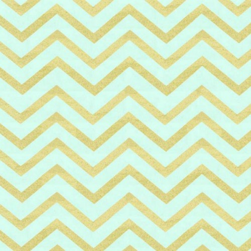 Sleek chevron pearlized - mist ύφασμα του Michael Miller