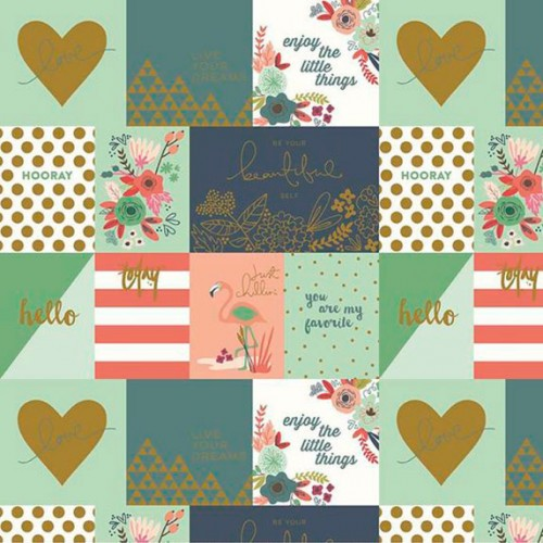 On trend notecards - Coral