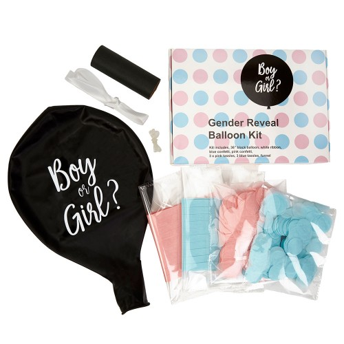 Μπαλόνια gender reveal party kit